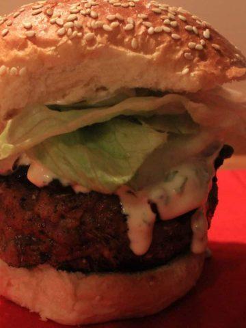 chicken fried steak burger