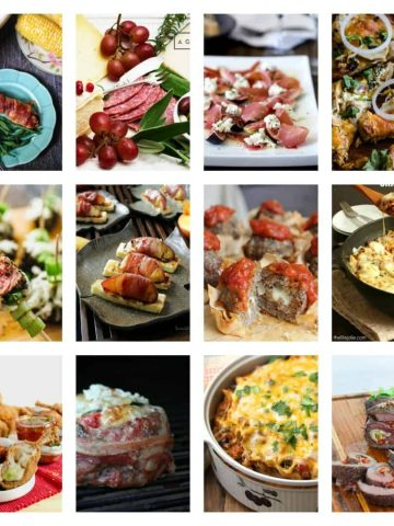 Cheese and Meat Recipe Roundup