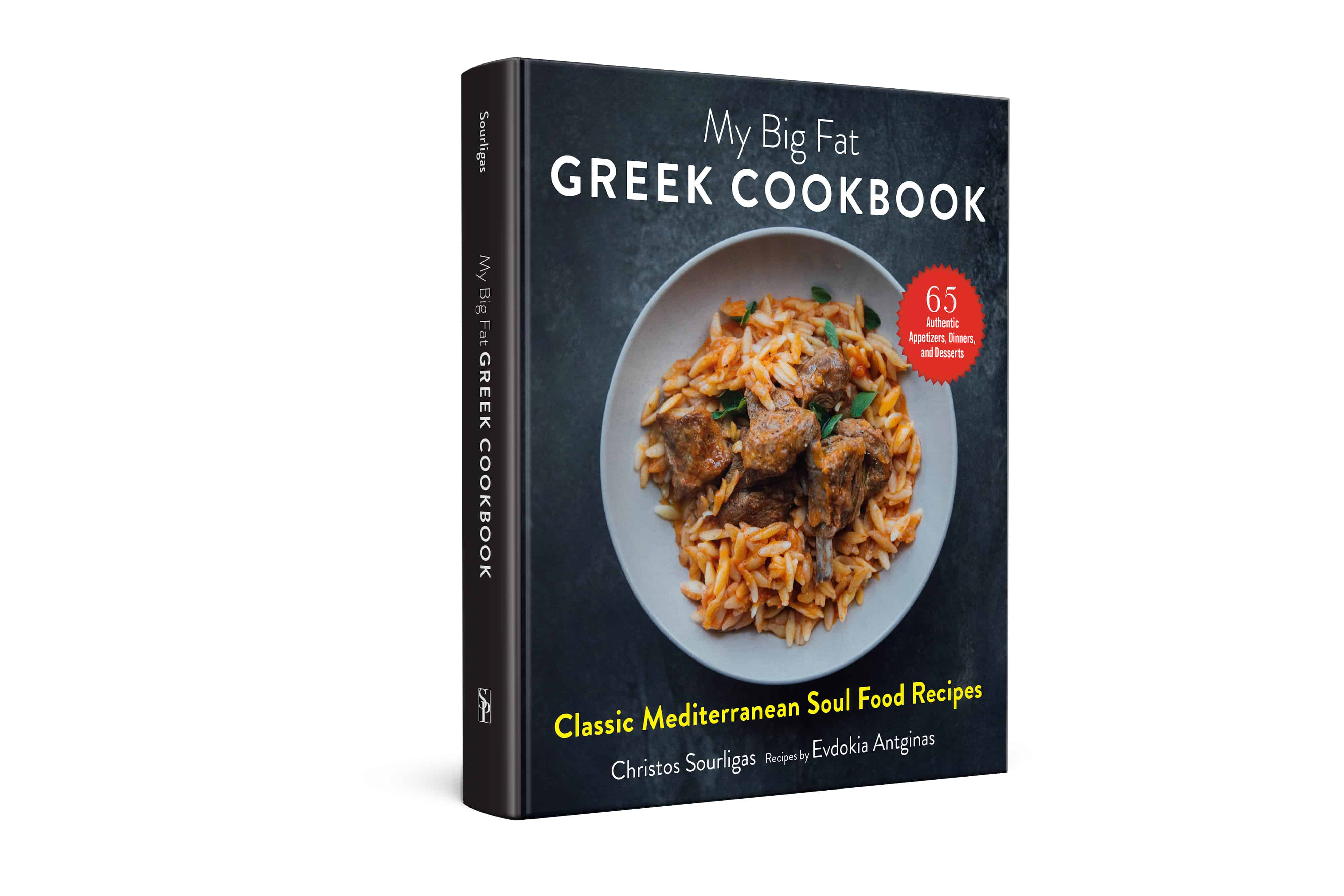 Front cover of My Big Fat Greek Cookbook