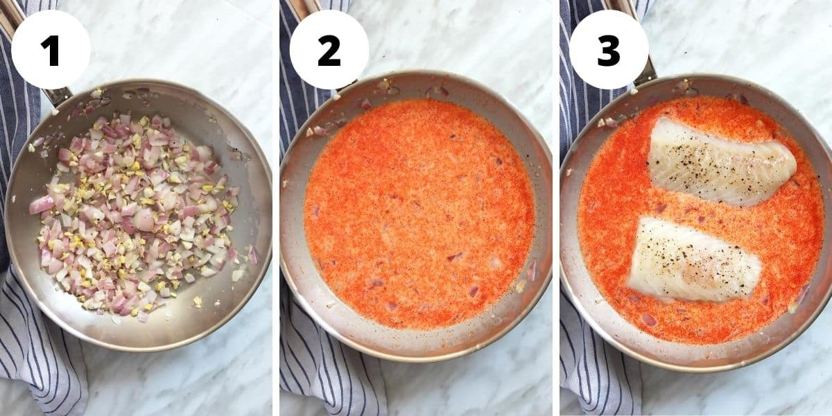 step by step photos to show how to make the recipe